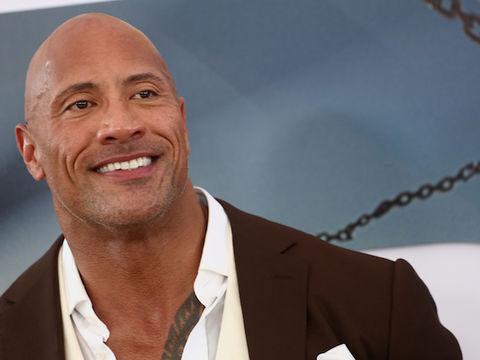 The Rock's Wife Shares the Cutest Wedding Photos