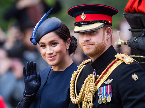 Prince Harry & Meghan Markle Say Goodbye to Royal IG Ahead of Exit