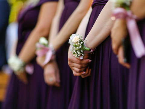 You Won't Believe What One Maid of Honor Wore to a Wedding
