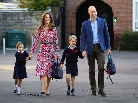 Adorable Princess Charlotte Heads to Her First Day of School!