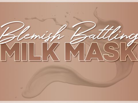 DIY: Blemish-Battling Mask
