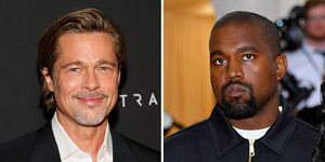 Brad Pitt Calls Kanye's Sunday Service a 'Pure Celebration of Life and People'