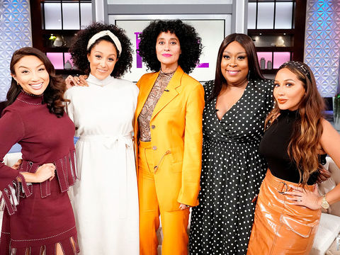 Wednesday on a LIVE 'The Real': Tracee Ellis Ross