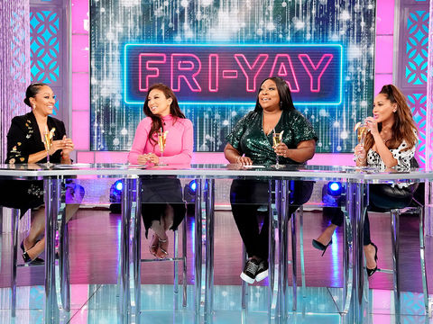 The Ladies of 'The Real' Voice Their Opinions on Men Paying Their Wives as an…