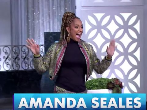 Monday on 'The Real': Amanda Seales, Blac Chyna