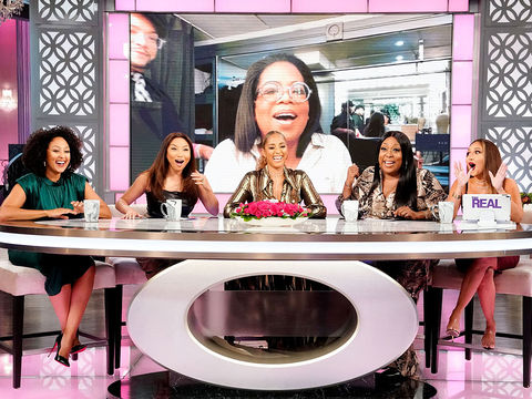 The Ladies of 'The Real' Talk to Oprah about Her '2020 Vision: Your Life in…