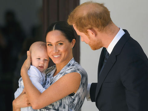 Baby Archie Makes First Appearance on Royal African Tour!