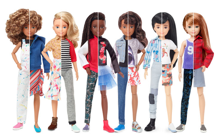 Mattel Introduces Gender-Neutral Doll Collection