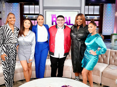 Wednesday on 'The Real': Amanda Seales and Rico Rodriguez