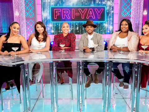 Friday on 'The Real': Amanda Seales and Larenz Tate