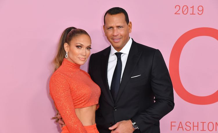 J.Lo & Alex Rodriguez Share Family Photos from Their Engagement Party