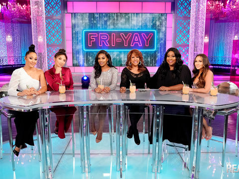 """Friday on 'The Real': Jessica """"Jess Hilarious"""" Moore and Mary Wilson"""