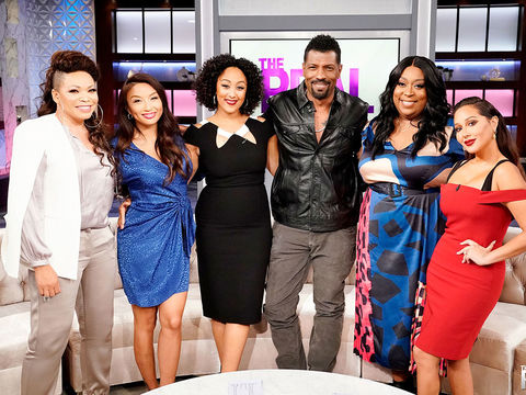 Monday on 'The Real': Tisha Campbell, Robin Thede, and Deon Cole