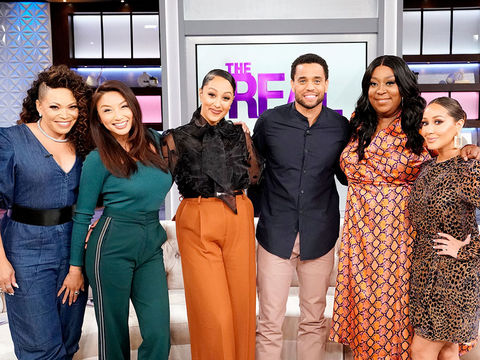Wednesday on 'The Real': Tisha Campbell, Michael Ealy