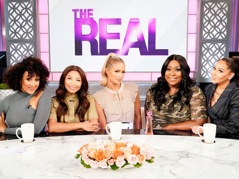 Wednesday on 'The Real': Paris Hilton, Mj Rodriguez