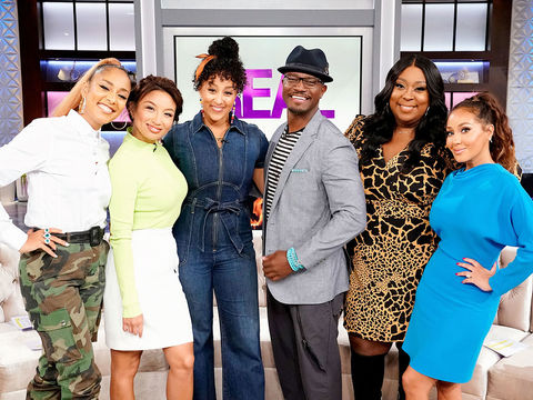 Wednesday on 'The Real': Amanda Seales, Angie Martinez, Taye Diggs