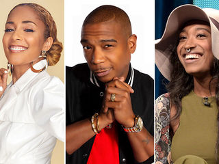 Amanda Seales, Ja Rule, Brittney Atkins