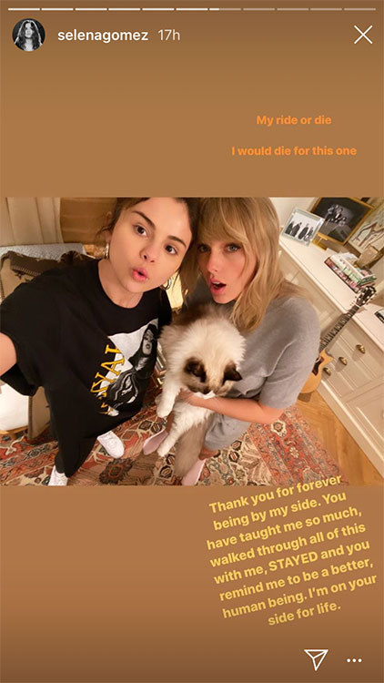 Selena Gomez and her BFF Taylor Swift!