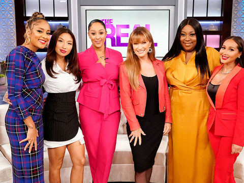 Wednesday on 'The Real': Amanda Seales, Jane Seymour