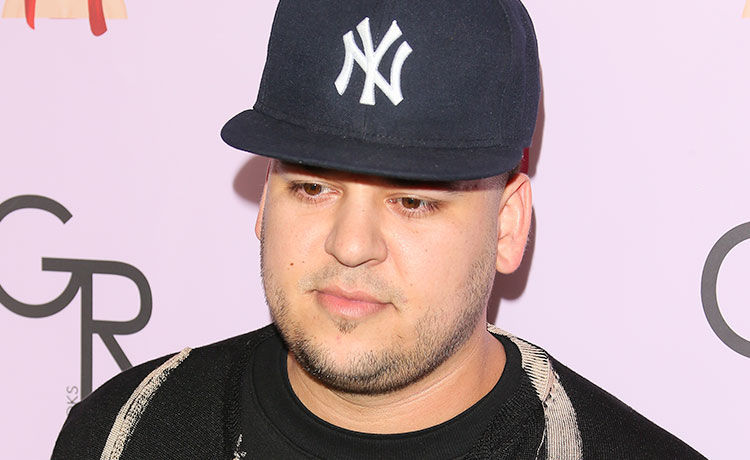 Rob Kardashian Makes Rare Appearance at Kendall Jenner's Birthday