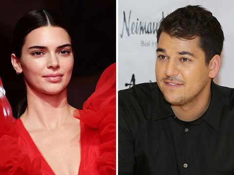 Kendall Jenner Calls Rob Kardashian's Rare Public Appearance the 'Best Bday…