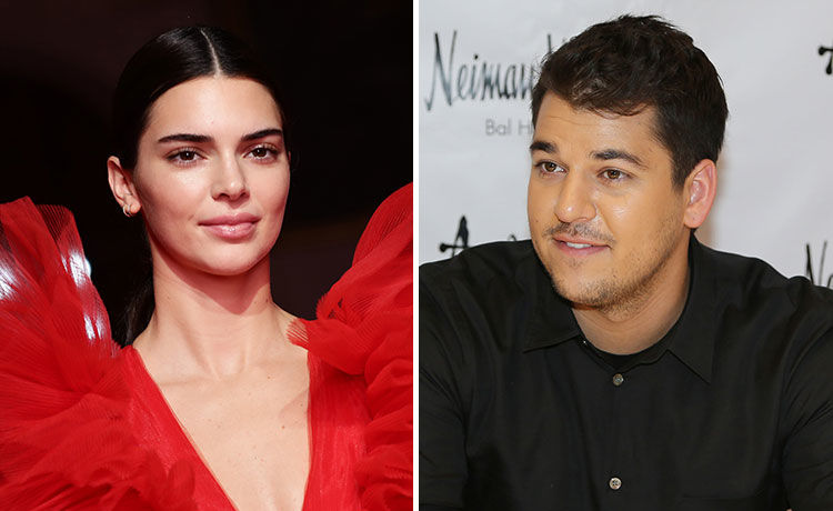 Kendall Jenner Calls Rob Kardashian's Rare Public Appearance the 'Best Bday Present Ever'!