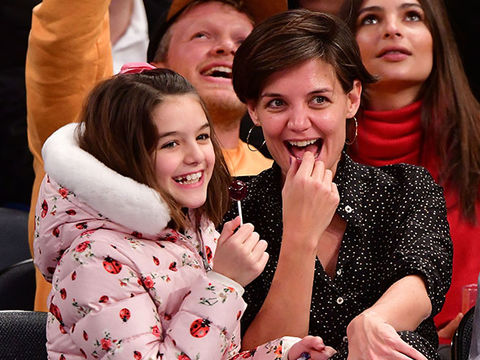 Katie Holmes Says She & Daughter Suri Cruise 'Grew Up Together'
