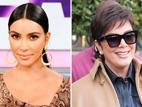 Kim Kardashian Surprises Mom Kris Jenner with Birthday Lunch at Family's…