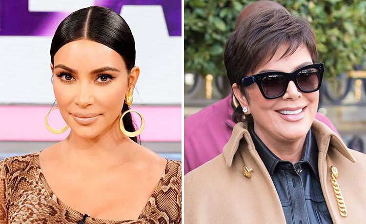 Kim Kardashian Surprises Mom Kris Jenner with Birthday Lunch at Family's Childhood Home