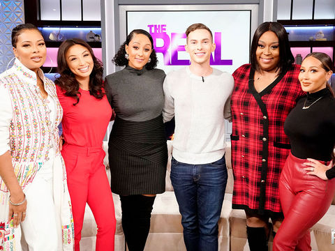 Wednesday on 'The Real': Eva Marcille, Adam Rippon