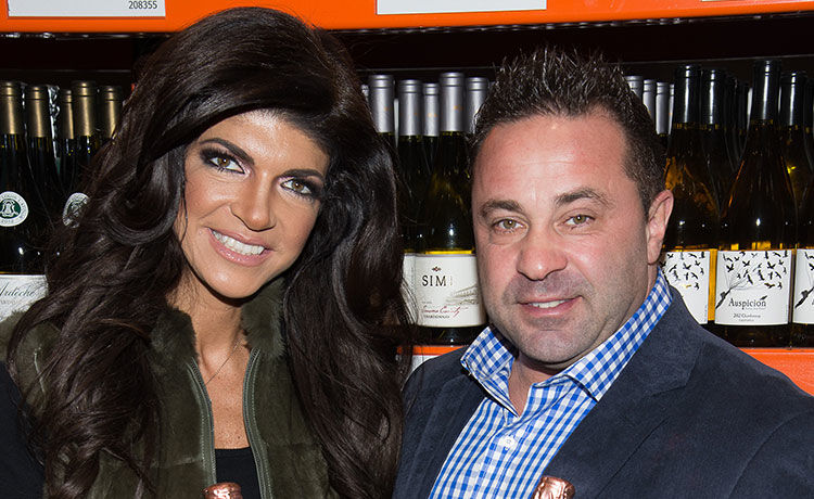 Teresa & Joe Giudice Reunite in Italy with Children