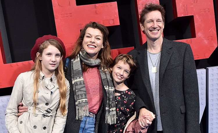 Milla Jovovich & Husband Are 'Not Having Sex in Bed' Because Daughters Sleep with Them!