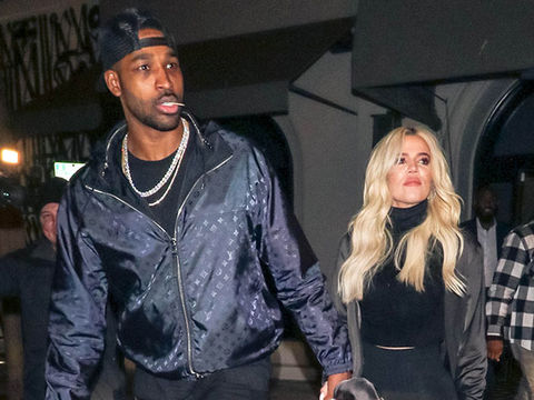 Khloé Kardashian Celebrates 4th of July at Ex Tristan Thompson's House