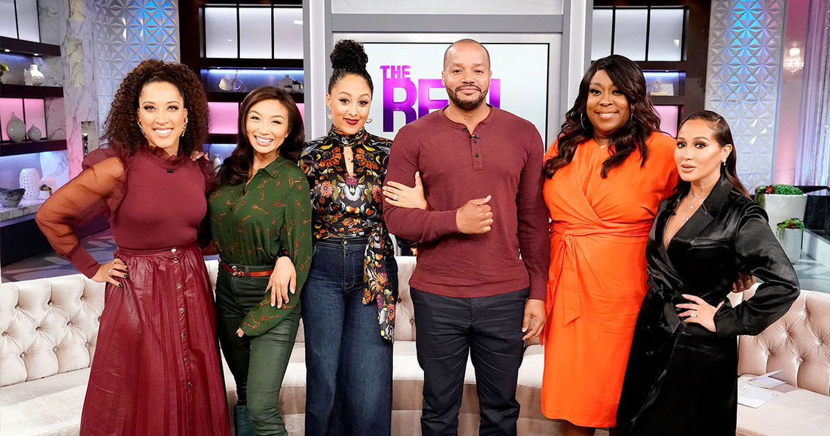 Tuesday on 'The Real': Robin Givens, Donald Faison