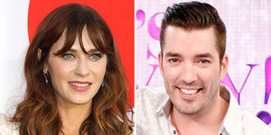 Zooey Deschanel & Jonathan Scott Make Red-Carpet Debut
