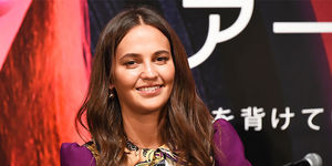 Alicia Vikander Will Only Film a Sex Scene in 1 Take!