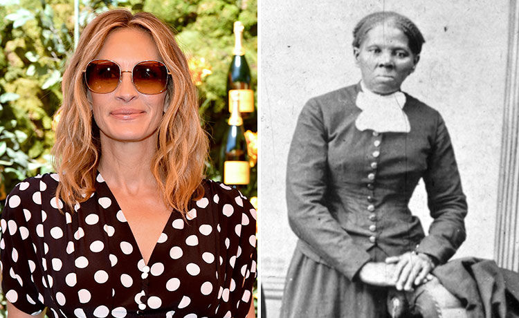 Screenwriter Says Exec Suggested Julia Roberts Play Harriet Tubman