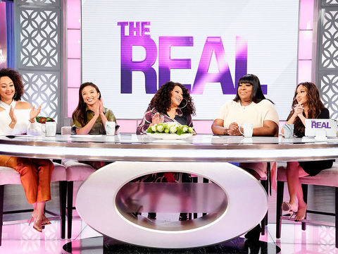 Tisha Gives an Update on Life Since Meeting Her New Sister on 'The Real'
