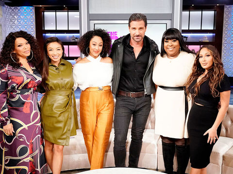 Wednesday on 'The Real': Tisha Campbell, Ed Quinn