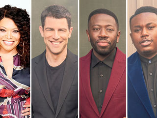 Tisha Campbell, Max Greenfield, Sheaun McKinney, Marcel Spears