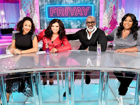 Friday on 'The Real': Tisha Campbell, Safaree, BeBe Winans