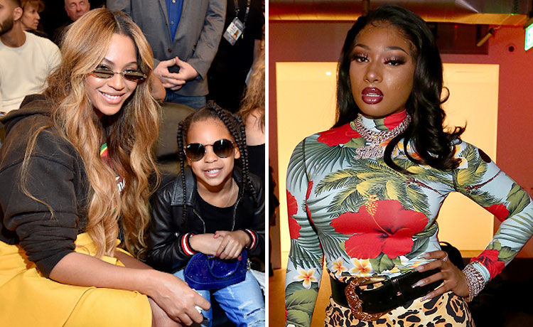 Beyoncé & Blue Ivy Carter Ring In the New Year with Megan