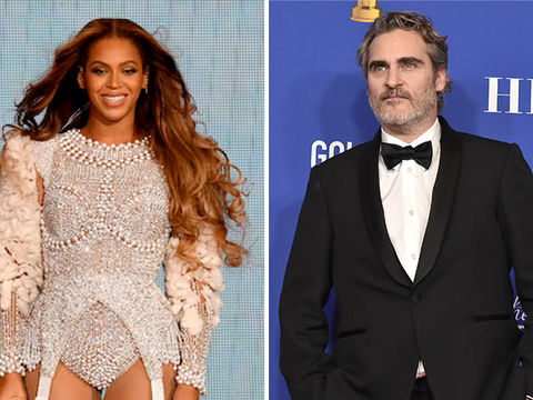 Fans Defend Beyoncé After Perceived Joaquin Phoenix Golden Globes Shade