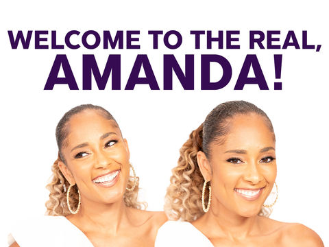 "Welcome to ""The Real,"" Amanda Seales!"