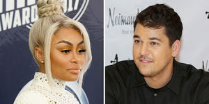 Rob Kardashian Reacts to Blac Chyna's Claim That Daughter Dream Suffered…