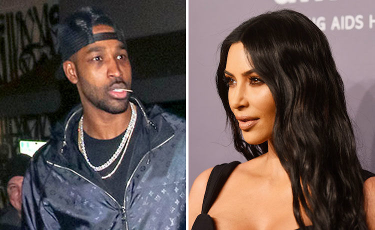 Kim Kardashian Denies Booing Tristan Thompson at Basketball Game