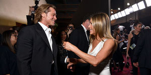 Brad Pitt & Jennifer Aniston's Touching Reunion at the 2020 SAG Awards!