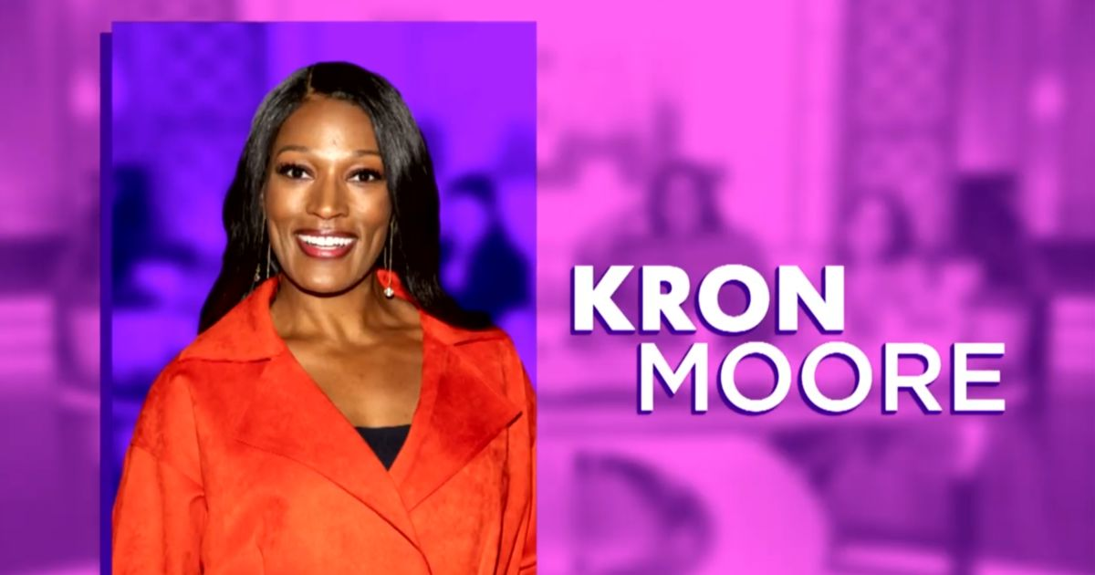 Tuesday on 'The Real': Kron Moore