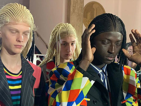 Comme des Garçons Slammed for Putting White Models in Cornrow Wigs