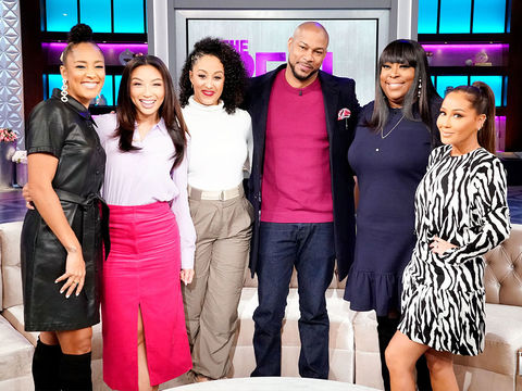 Wednesday on 'The Real': Finesse Mitchell
